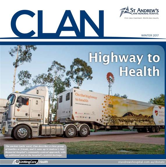 Clan our dedicated magazine for donors and the wider community
