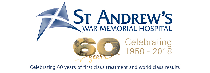 St Andrews Celebrates 60 Years Banner
