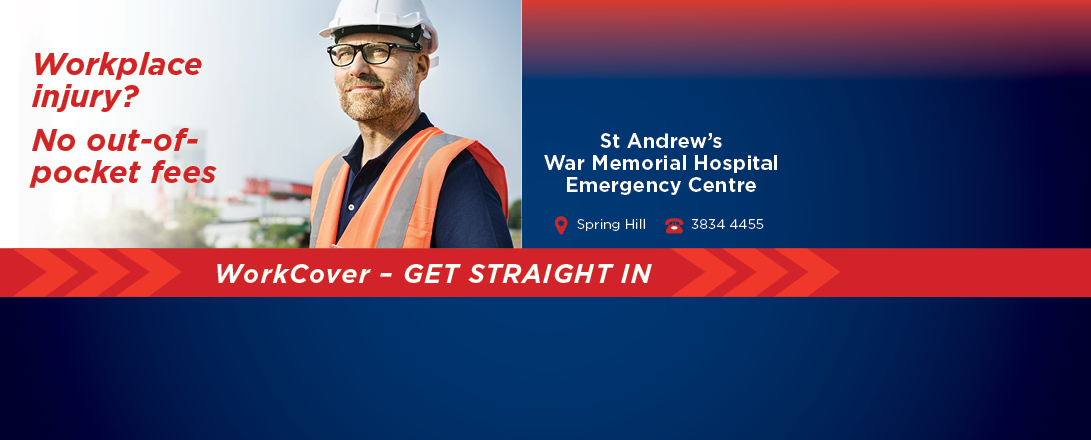 For WorkCover injuries, don't delay.