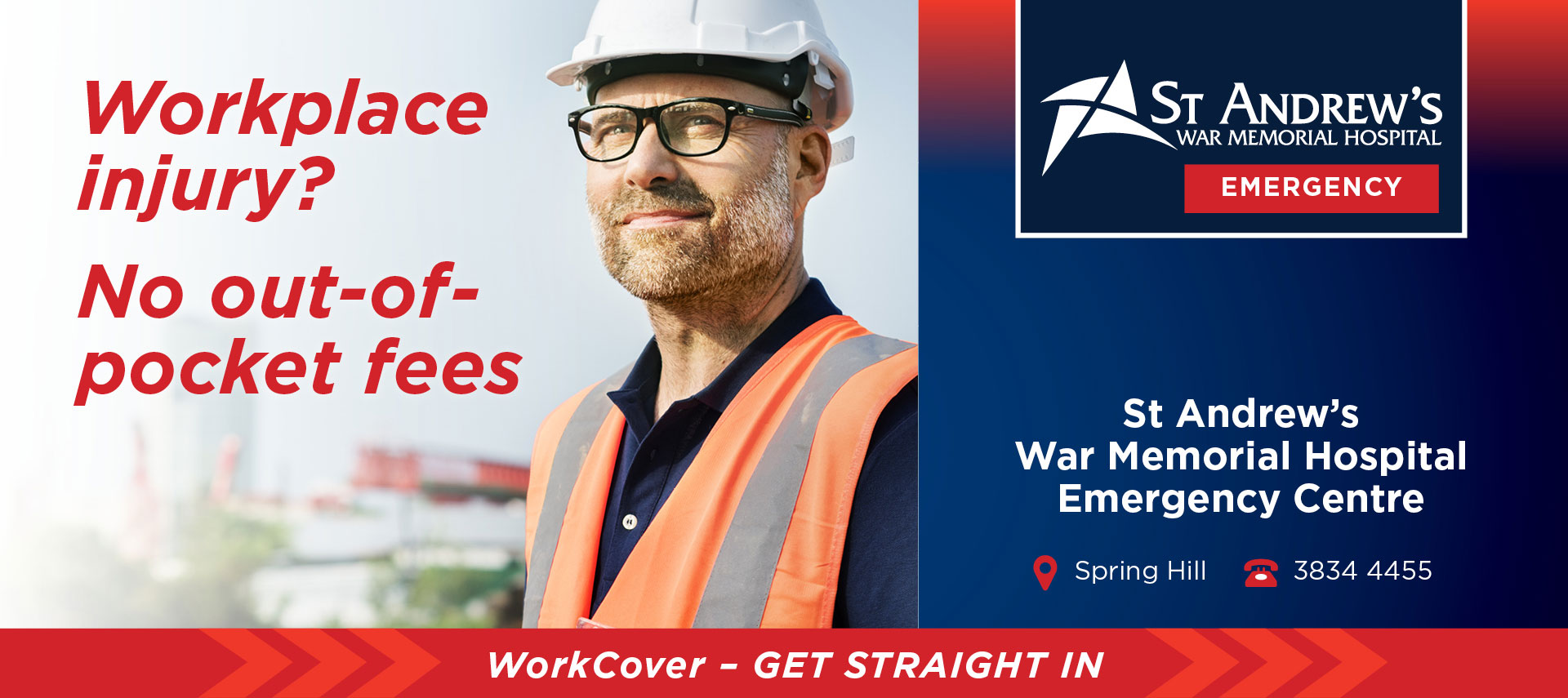 St Andrew's War Memorial Hospital Workcover