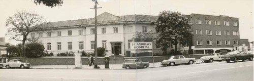 St Andrew's Hospital early 70s pic